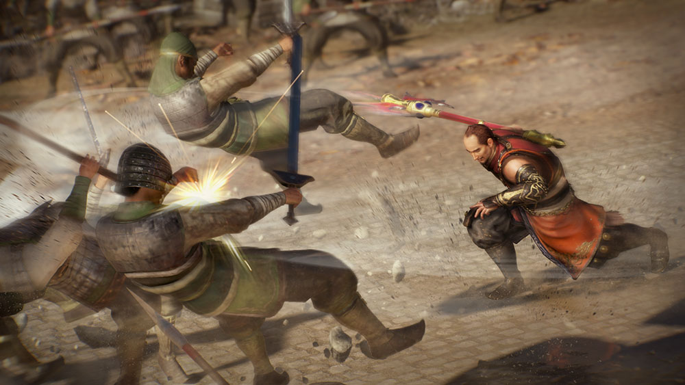 dynasty warriors 9 combat system spear