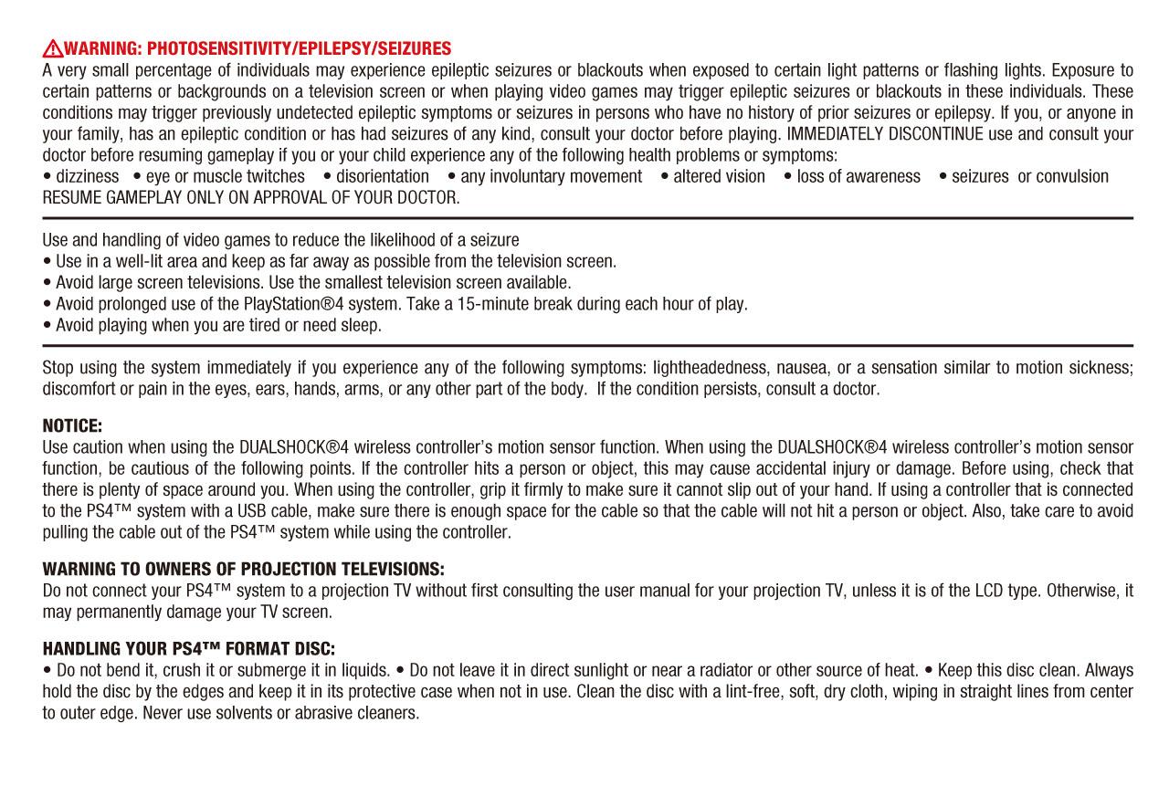 Ps4 Manual